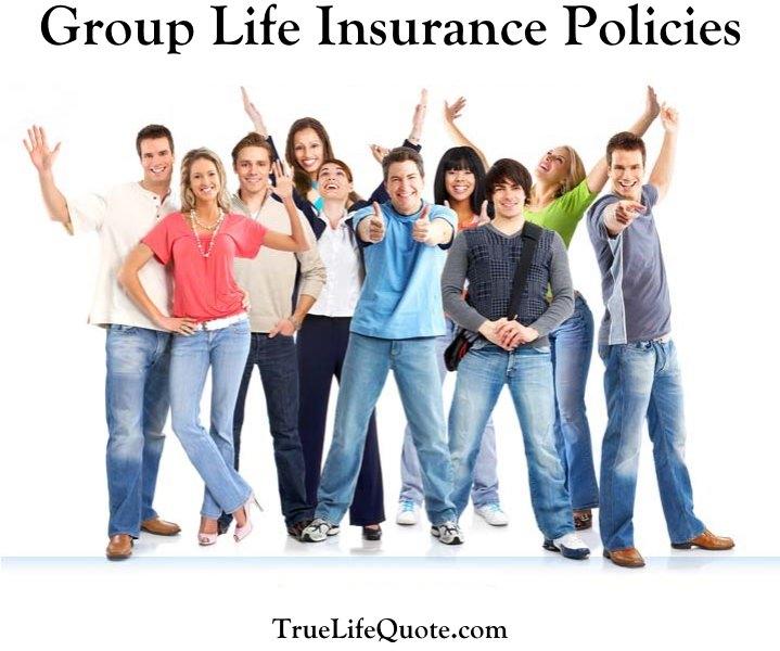 group term life insurance policies